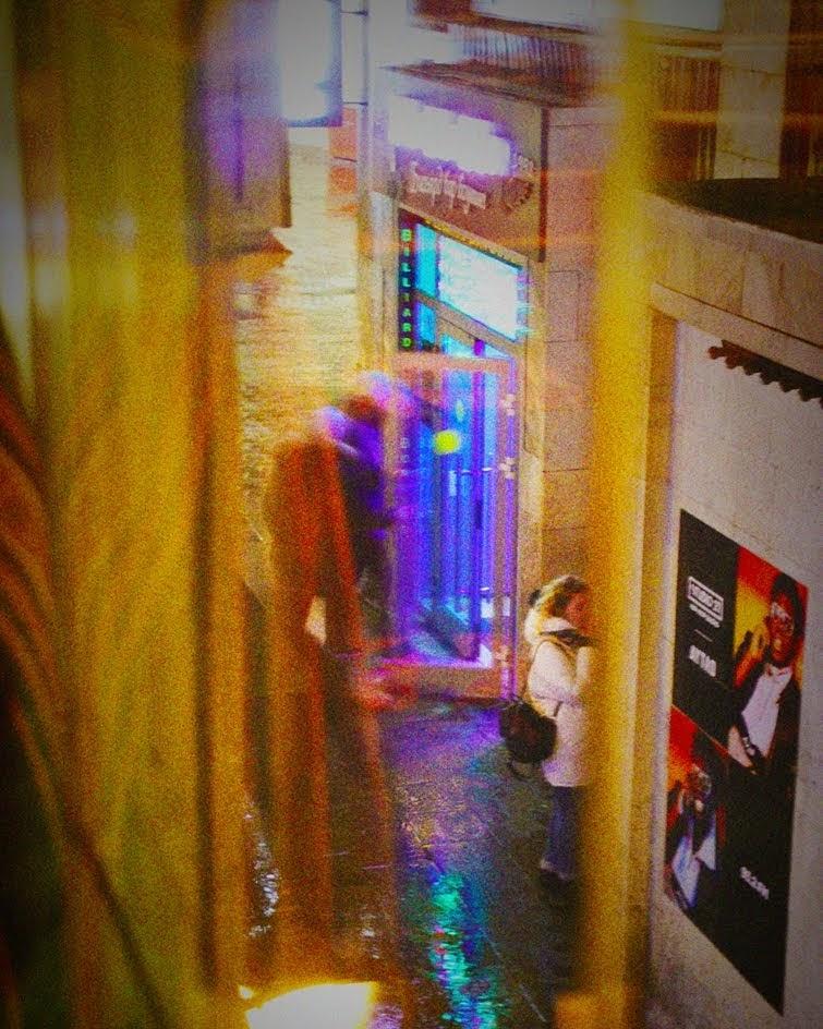 #город #москва #москвавечерняя #улица #движение #вечер #красиво #ночнойсвет #изокна