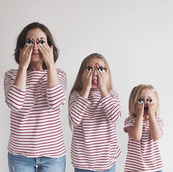 История невероятно креативной мамы и ее дочерей. До чего же клевые!
