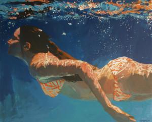 подводный портрет женщины 2