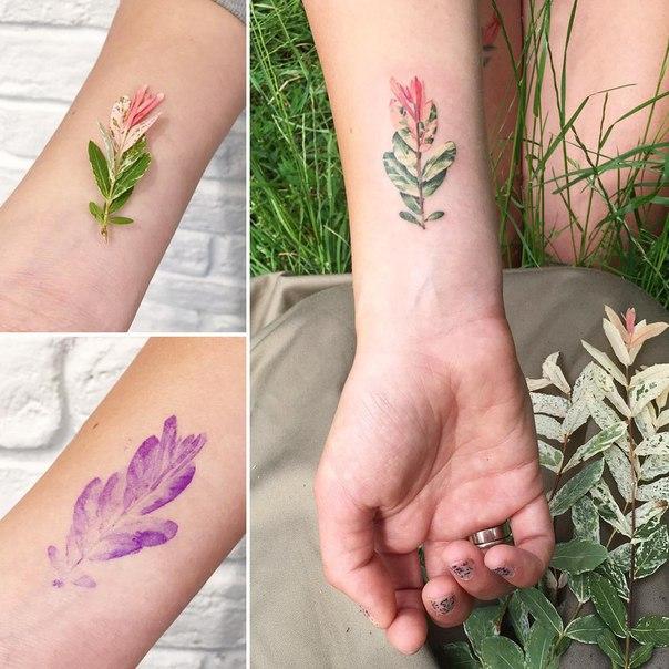 Эксклюзивные татуировки от rit.kit