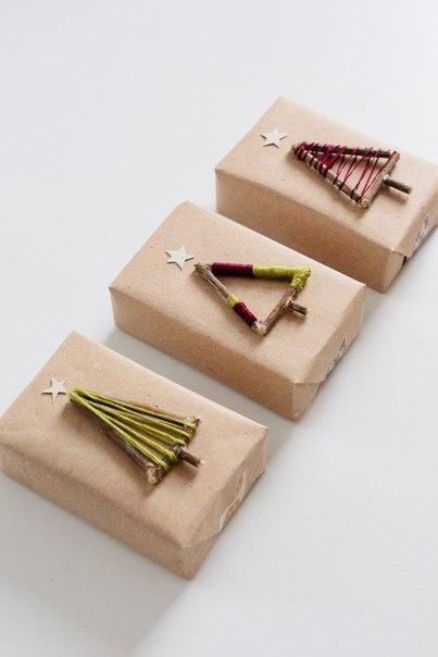 DIY. Оригинальная упаковка новогоднего подарка