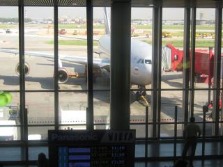 А это наш самолёт