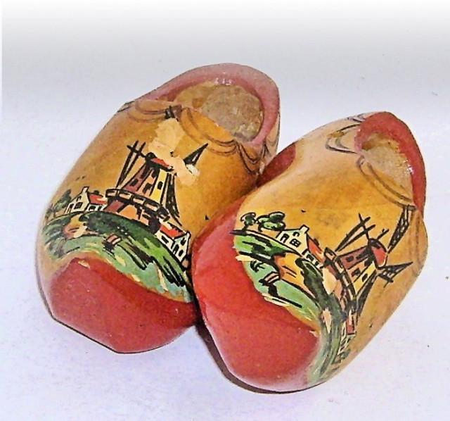 Dutch, wooden shoes