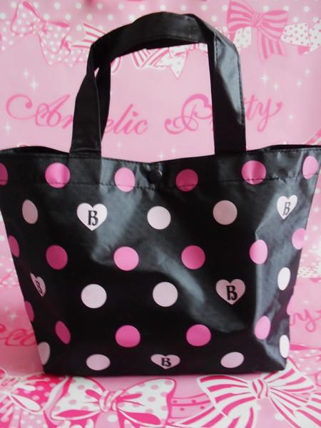 BABY dots tote bag