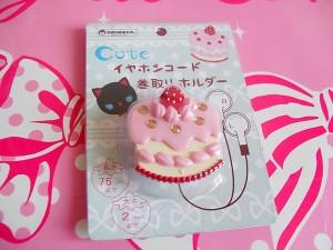 SWIMMER cake earphones winder