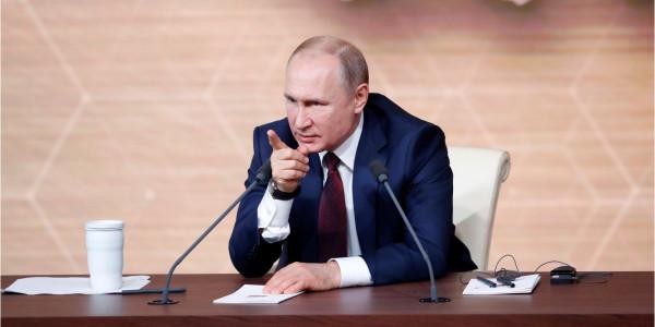 Реакция иностранцев на пресс-конференцию Путина.
