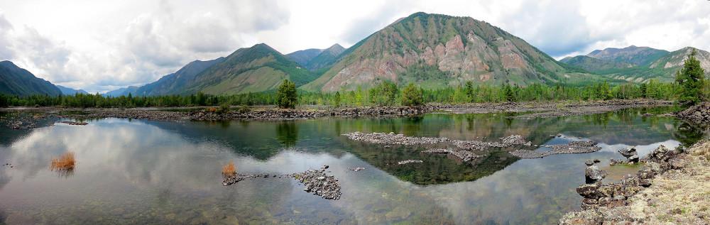 Лавовые озёра реки Жомболок