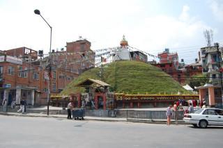 The Ashoka stupa