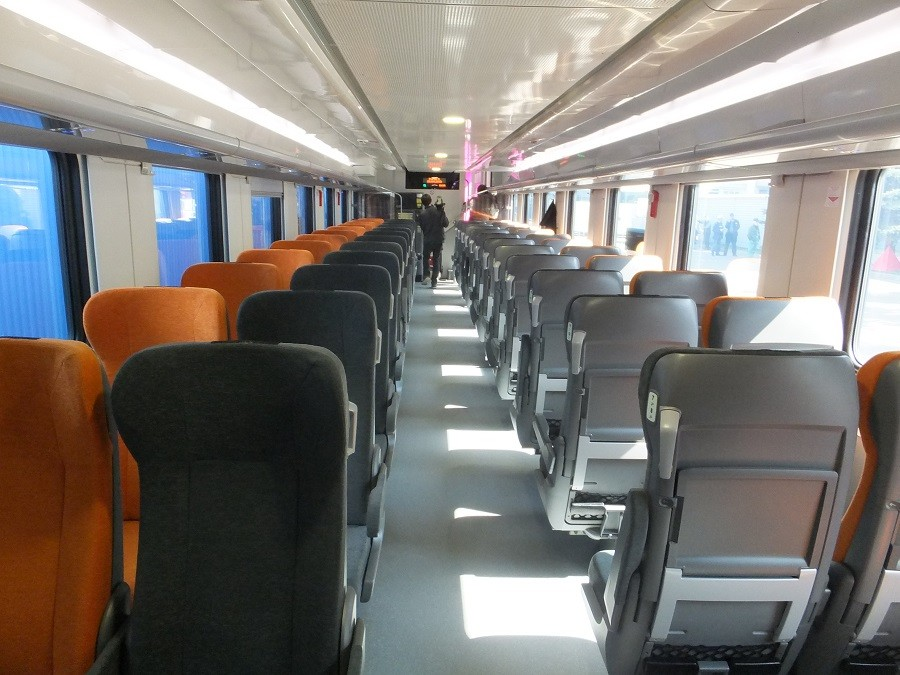 В вагоне второго класса