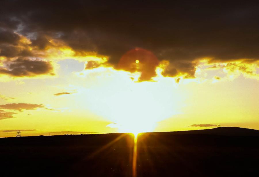 закат, Амгуэма