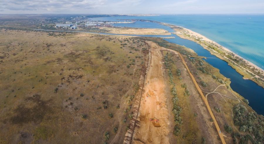 В Крыму незаконно функционируют песчаные карьеры