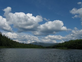 Река Вишера Северный Урал