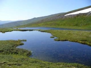Гольцовые озера на Приполярном Урале