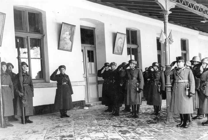 Возвращение венгерских знамен