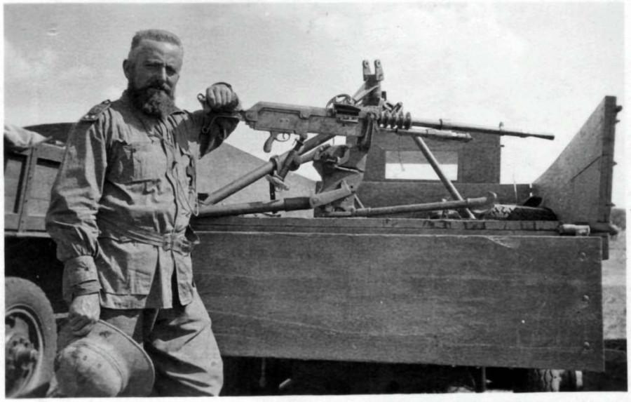 Крестом и пулеметом