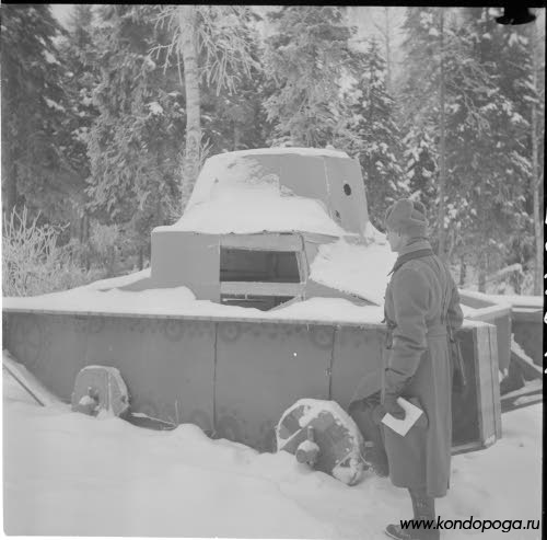 Танковые трофеи белофиннов в октябре 1941 года