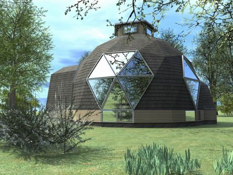 Дома-купола: история и примеры 4