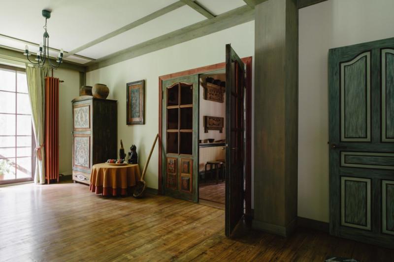 Загородный дом Леонида Парфёнова и Елены Чекаловой