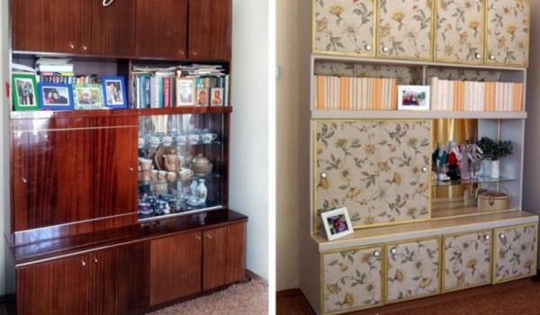 Преображение старой мебели