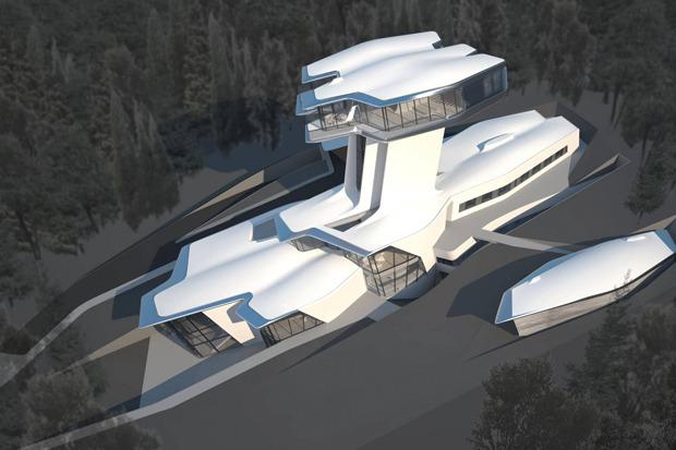 Резиденция Владислава Доронина в Барвихе по проекту Захи Хадид