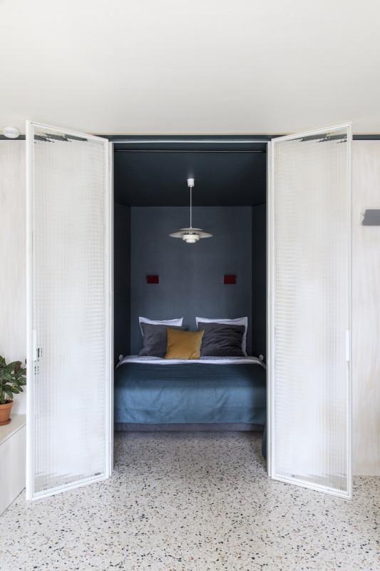 Квартира в стиле 60-х в Париже