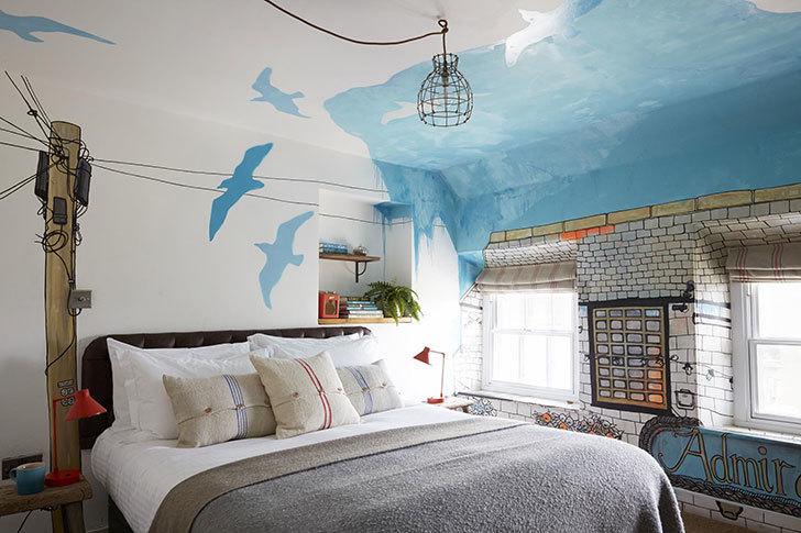 Отель Резиденция художника в Великобритании