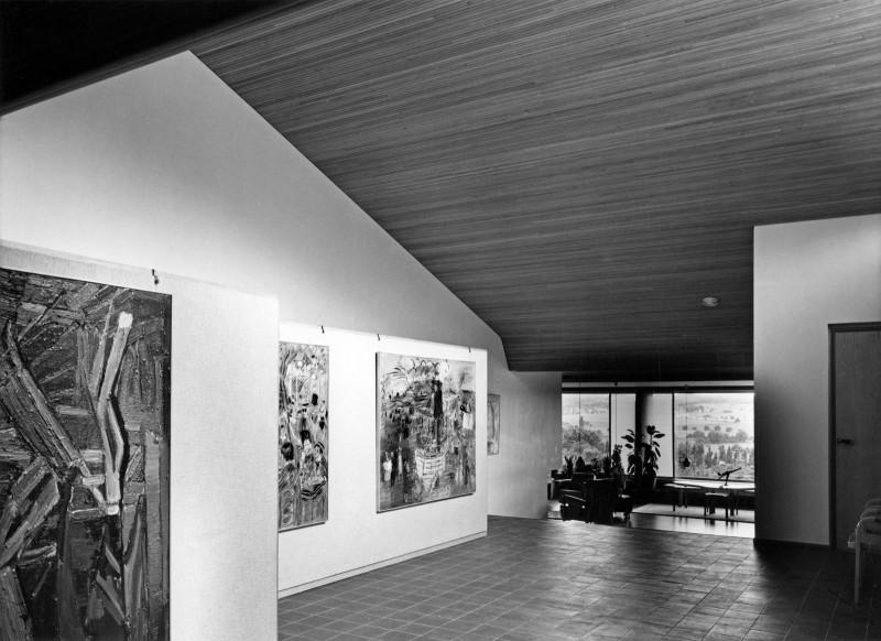 Дом Луи Карре в Базош-сюр-Гийон, 1957 — 1960