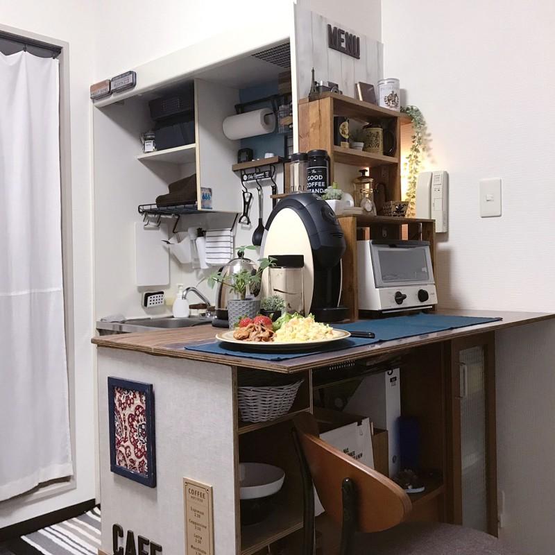Маленькая кухня в Японии