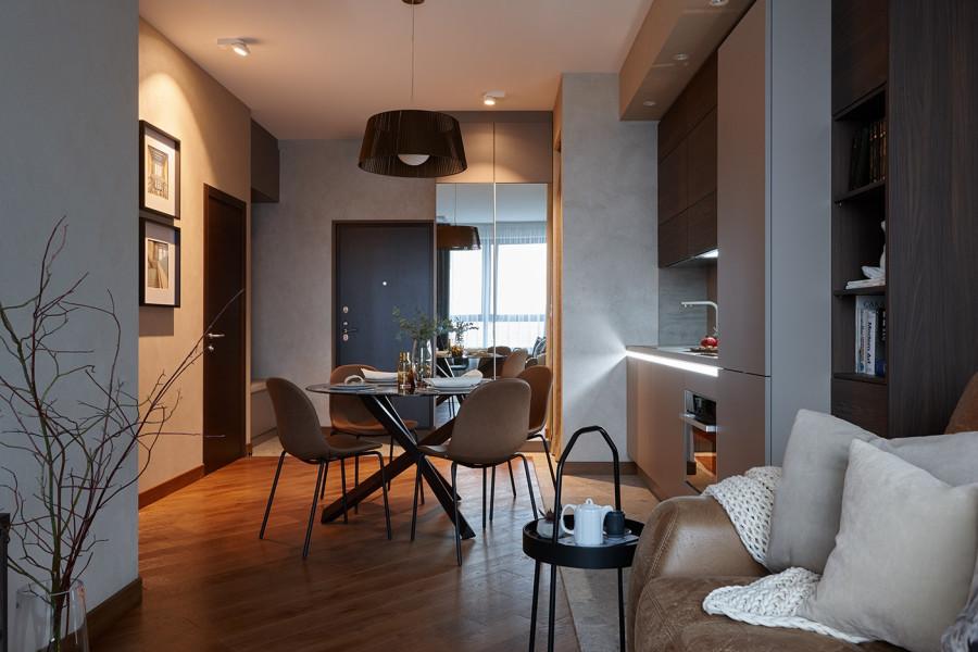 Однокомнатная квартира для молодого человека