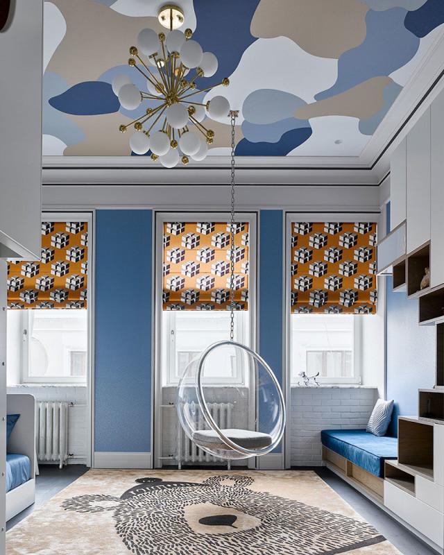 Двухуровневая квартира на Сретенке, Москва