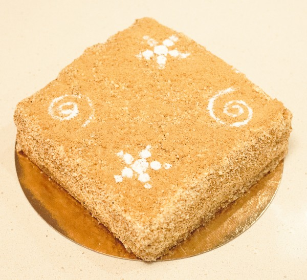 Торт славянка с халвой рецепт с фото пошагово