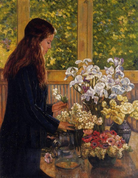 young-girl-with-a-vase-of-flowers