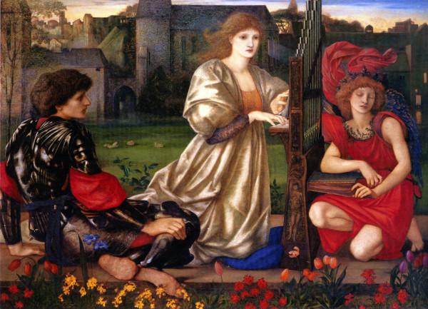 Edward Coley Burne-Jones - Le Chant d_Amour - копия