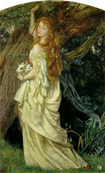 Arthur Hughes - Ophelia _Second Version_