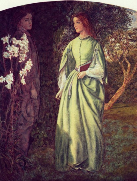 Arthur Hughes - The rendezvous