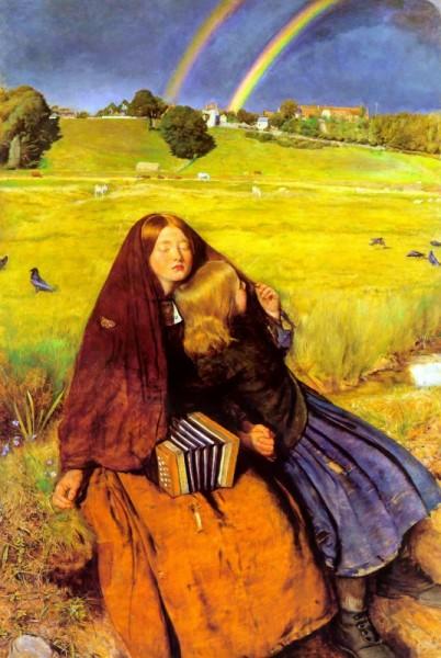 1856 blind girl