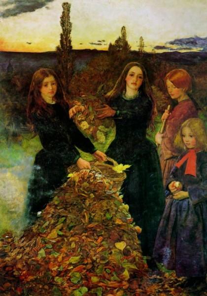 1856 Autumn Leaves