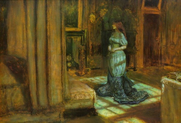 1863 The Eve of Saint Agnes
