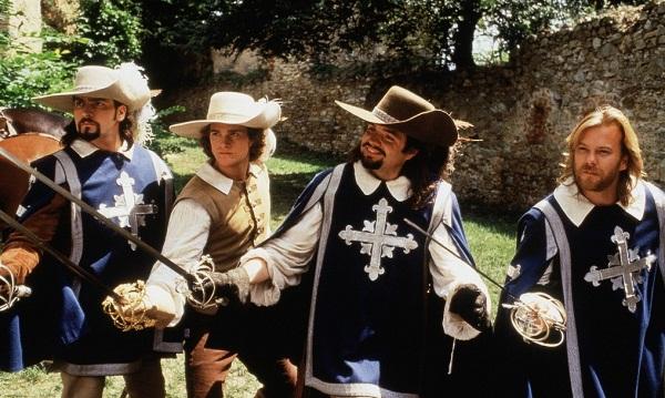 Кадр из фильма «Три мушкетера», реж. Стивен Херек, 1993
