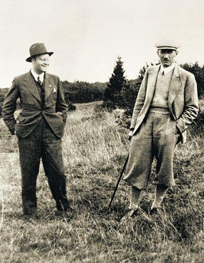 Links Jarij, rechts Konowalez