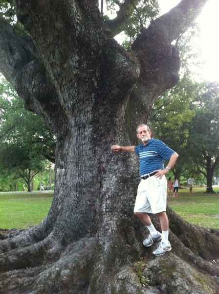 2012-06-03 Dad in Audubon Park 3