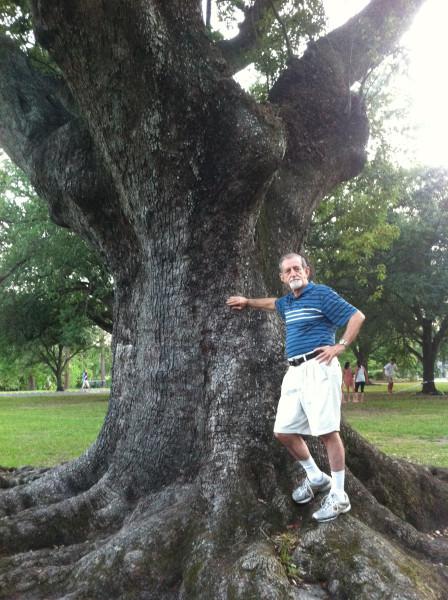2012-06-03 Dad in Audubon Park 3