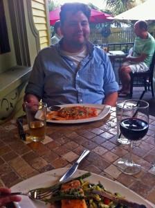 2012-06-21 Bob Wardlaw at Nonna Mia's Cafe and Pizzeria