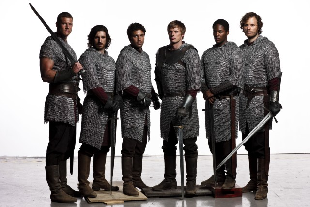 Merlin tv series me myself and crazy for 13 knights of the round table