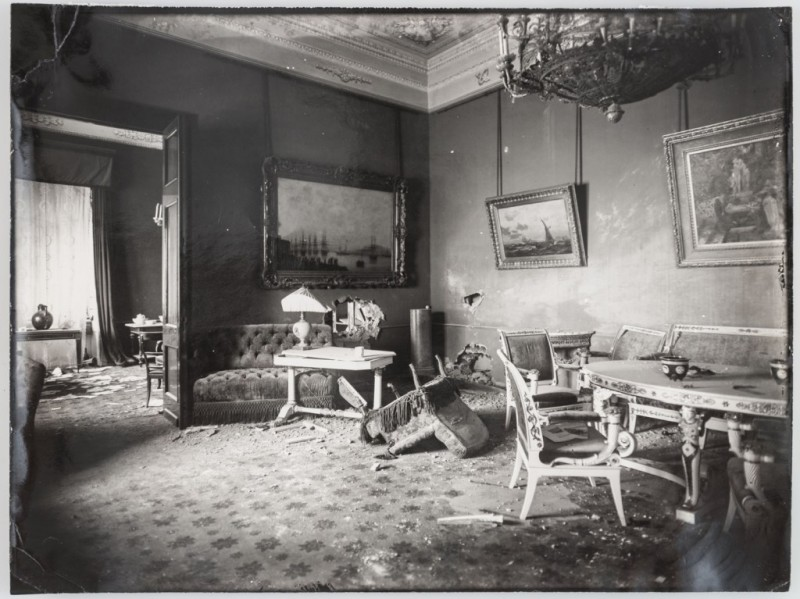 Эрмитаж разрушенные комнаты
