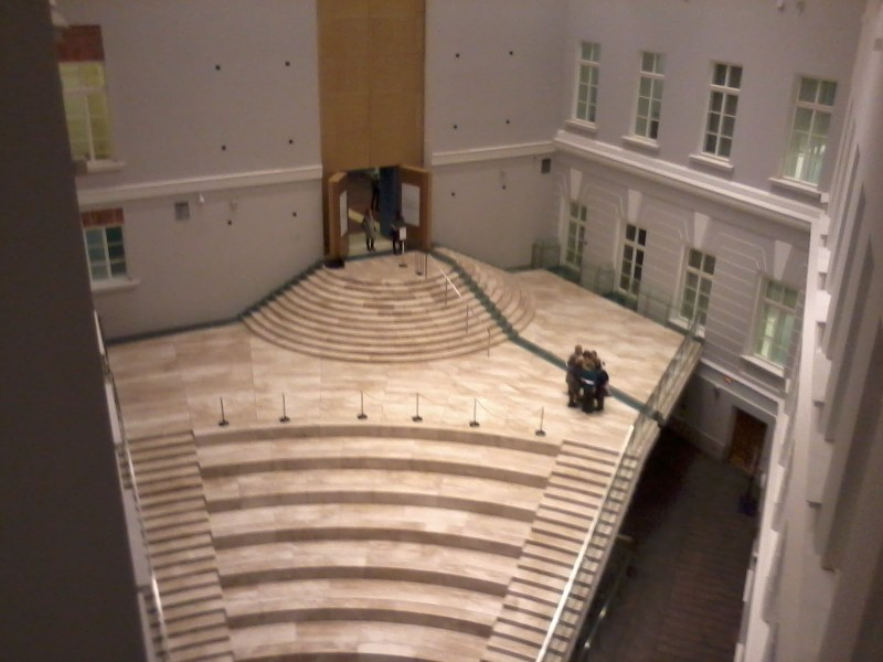 Главный штаб внутренний дворик