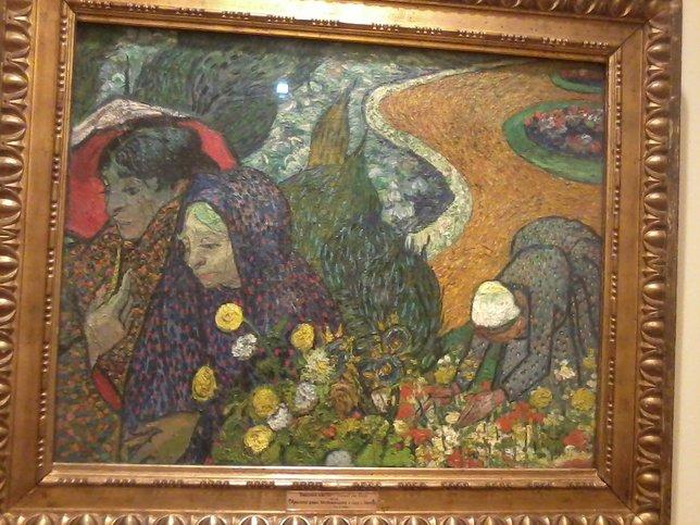Винсент Ван Гог Воспоминание о саде в Эттене