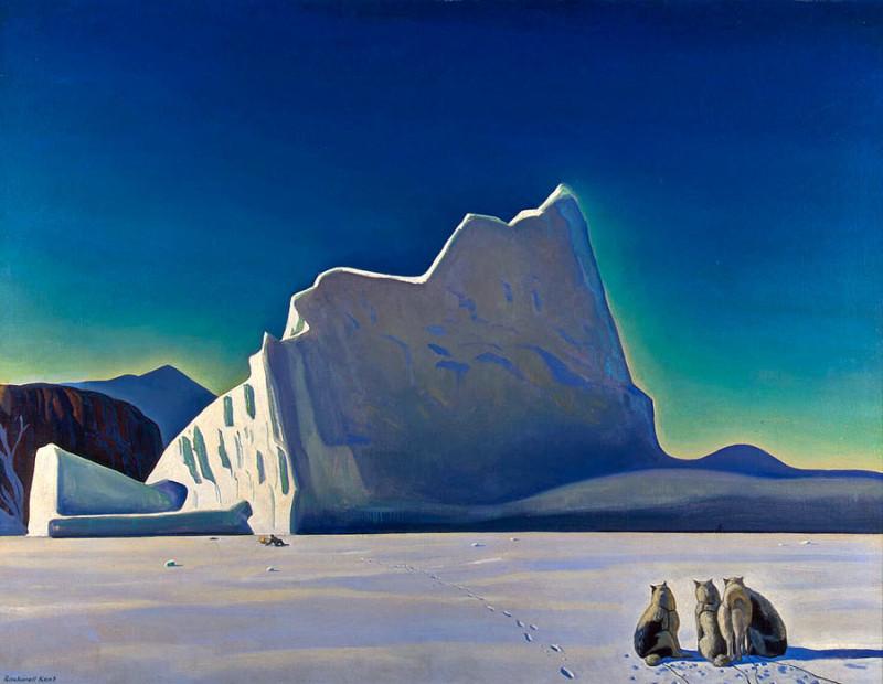Рокуэл Кент Охотник на тюленей Северная Гренландия