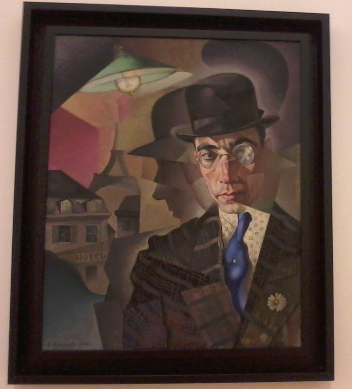 Анненков Портрет фотографа художника Шерлинга