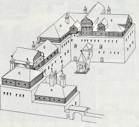 Рисунок Поганкиных палат